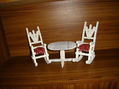 Surprising Clothespin Rocking Chair Pattern Thriftyfun Squirreltailoven Fun Painted Chair Ideas Images Squirreltailovenorg