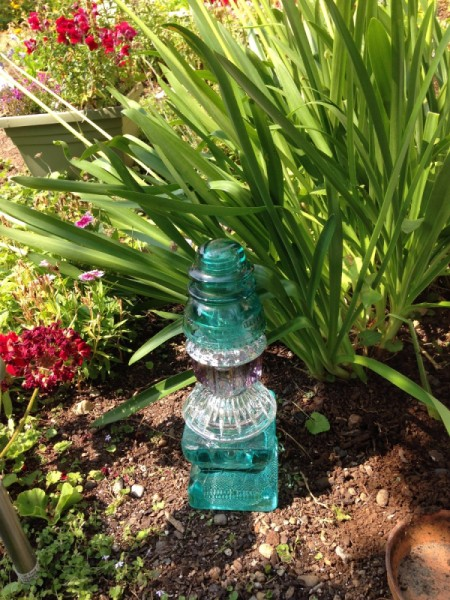Glass Tower in My Garden