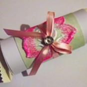 Wrapped Chocolate Party Favor - wrapped candy favor