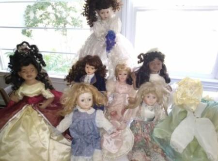 Selling Porcelain Dolls - dolls