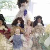 Selling Porcelain Dolls - dolls