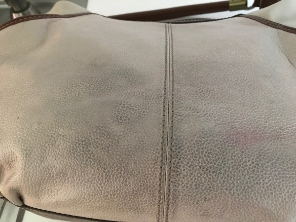 I Used A Magic Eraser Knock Off And It Looked Like New In Of Minutes The Picture Shows Half Bag Cleaned So That You Can See Difference