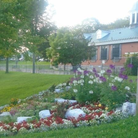 A picture of Confederation Park in Gananoque, Ontario.
