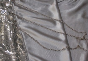 How to Sew Metallic Mesh