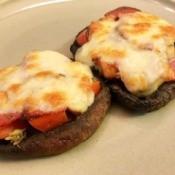 Portobello Mushroom Personal Pizzas