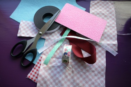 Magnetic Bookmarks - supplies