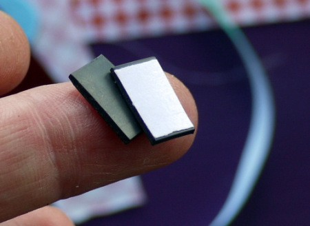 Magnetic Bookmarks - cut small pieces off the roll of magnetic tape