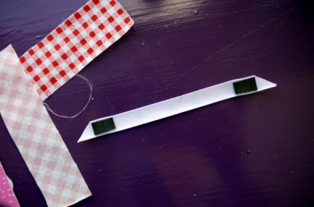 Magnetic Bookmarks - peel off backing and stick in place