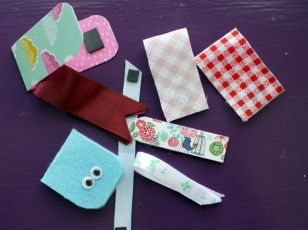 Magnetic Bookmarks - embellishments can be added, but stay away from bulky ones
