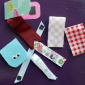 Magnetic Bookmarks - variety of completed bookmarks