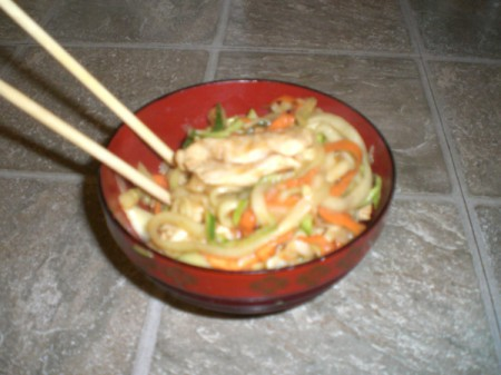 Chicken Zoodle-Do!