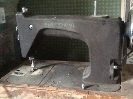 Finding the Model Number on a New Home Sewing Machine