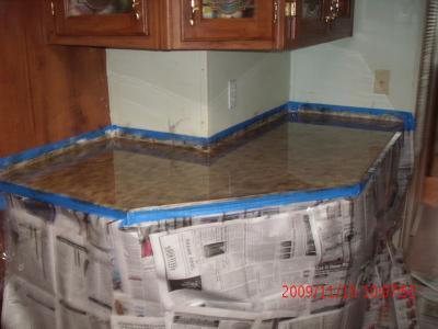Painting Laminate Countertops