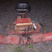 Value of Toro Professional 58 Reel Mower - powered reel mower from front