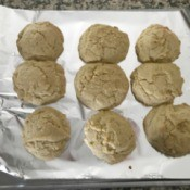 finished Cake Cookies