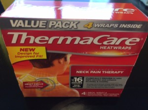 Save on ThermaCare Heat Wraps - box of wraps