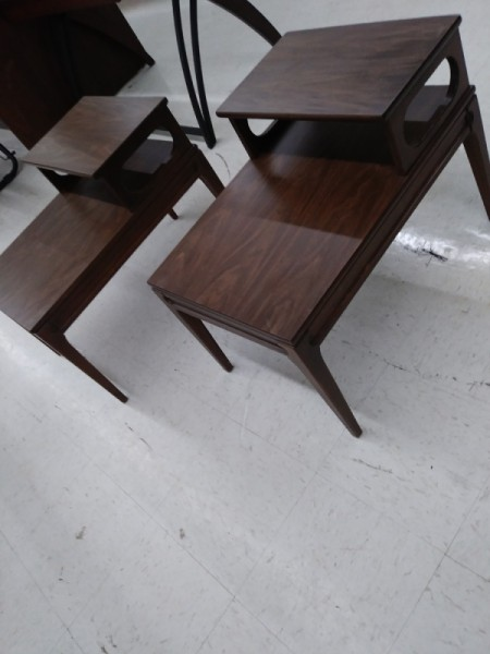 Value and Info on Mersman 30-1 End Tables - Formica top Mersman tables
