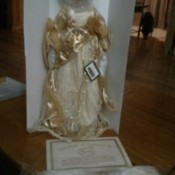 Value of a 2003 Porcelain Heritage Signature Collection Angel Doll