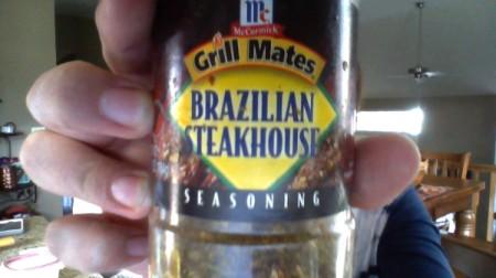 McCormick Grill Mates Brazilian Steakhouse Seasoning Recipe - bottle of the seasoning