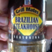 McCormick Grill Mates Brazilian Steakhouse Seasoning Recipe - bottle of the seasoning