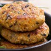 Cooked Vegetable Burgers