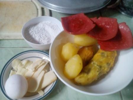 All In Potato Breakfast ingredients