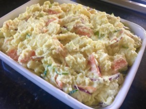 finished Japanese Potato Salad