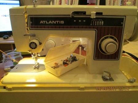 Manual for an Atlantis Sewing Machine