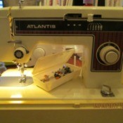 Manual for an Atlantis Sewing Machine
