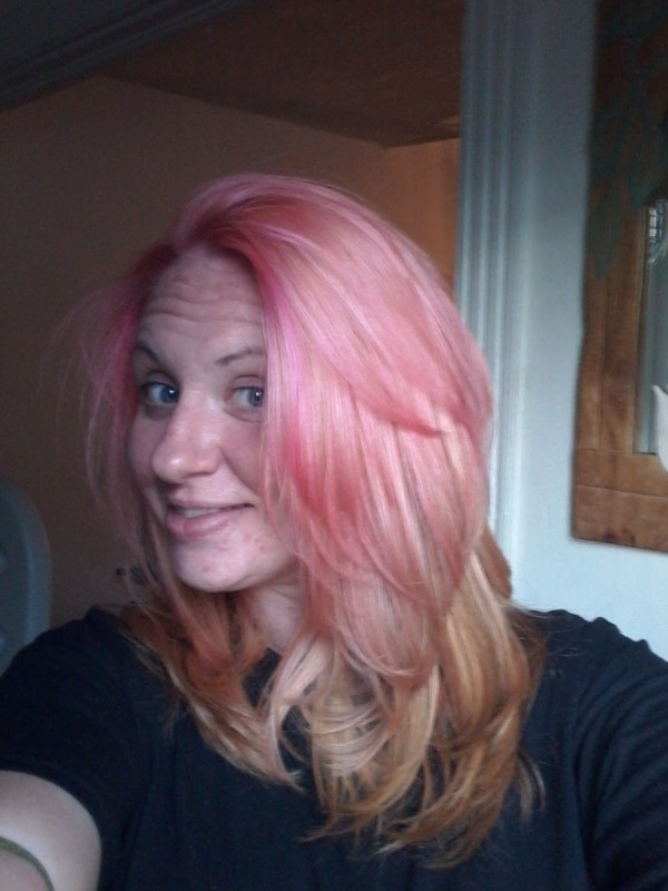 Fixing Hair Color That Came Out Pink Thriftyfun