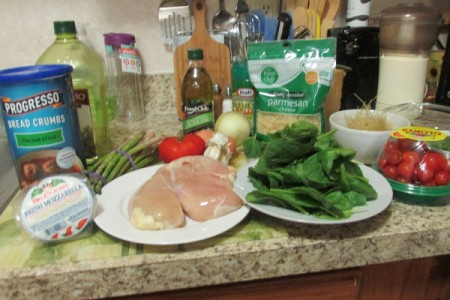 Magic Stuffed Chicken Breasts ingredients