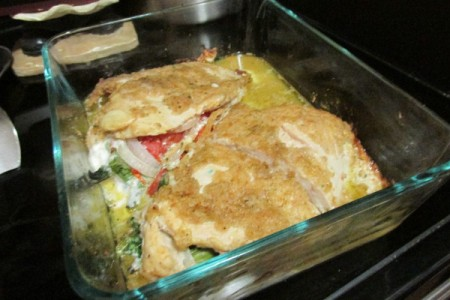 Magic Stuffed Chicken Breasts