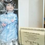 Lauren Anne Porcelain Doll