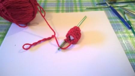 Calorie Free Crochet Cake Decoration - stuff