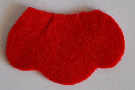 Goggle-Eyed Turkey Candy Box - cut a wattle from red felt and make slits on the upper edge