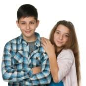Girl with Her Boyfriend