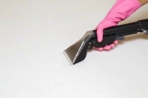 Cleaning a memory foam pad.