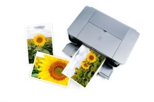 An inkjet photo printer.