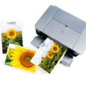 An inkjet photo printer.
