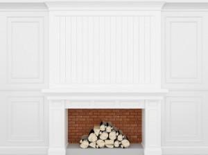 White Chimney Breast