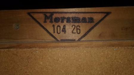 Value of a Mersman Curio Cabinet