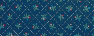 Searching for Discontinued Waverly Wallpaper - dark blue wallpaper with recurring pattern
