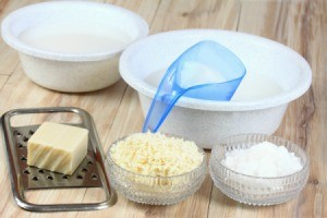 Homemade Laundry Detergent Supplies
