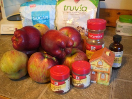 Crockpot Apple Butter ingredients