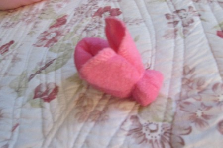 Make Boo-Boo Bunnies For a Baby Shower - head made