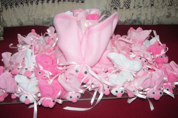 Make Boo Boo Bunnies For A Baby Shower Thriftyfun