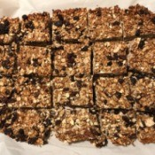 cut Granola Bars