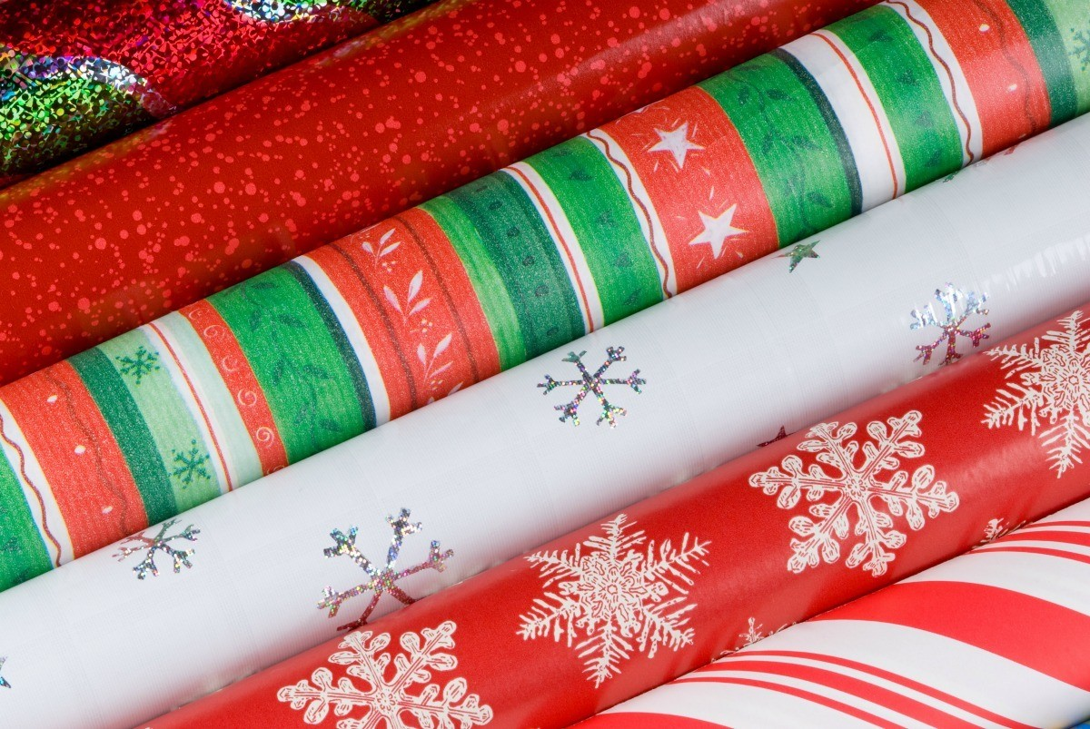 Image result for rolls of christmas wrapping paper
