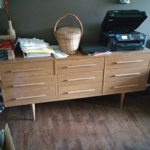 Value of 9 Drawer Dresser - modern style light colored dresser