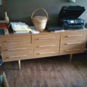 Value of 9 Drawer Dresser - modern style light colored dresser